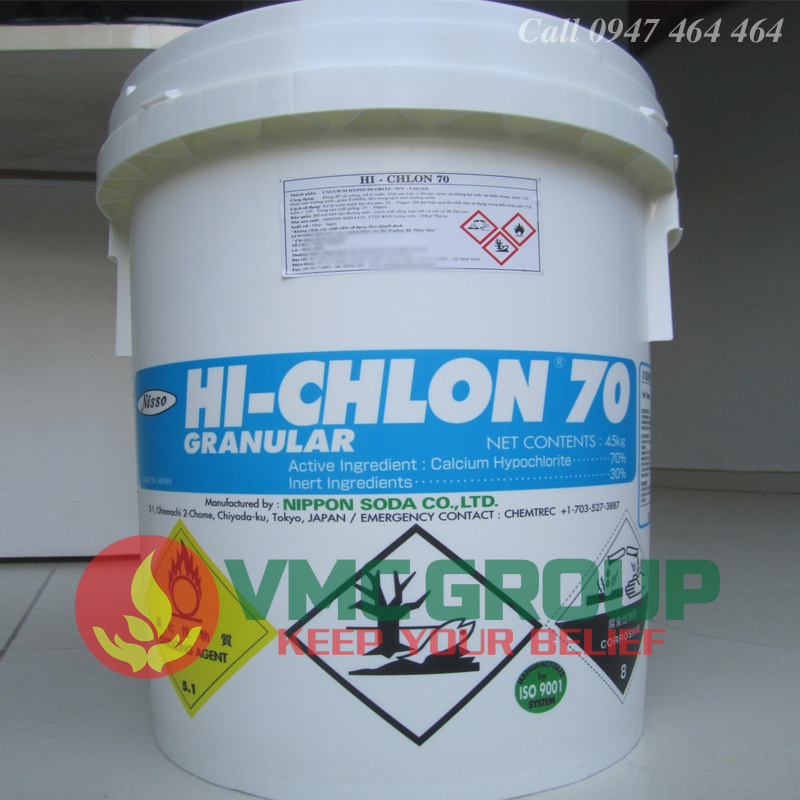 Clorin-nippon-nhat-ban
