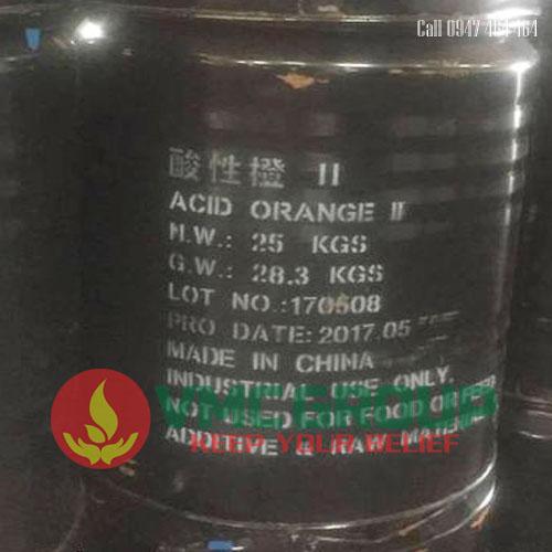 Acid Orange II vang hien tot