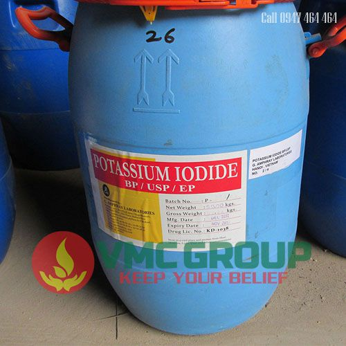 Potassium iodide KI thung 50kg