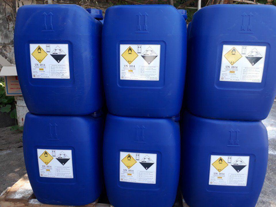 OXY GIÀ HYDROGEN PEROXIDE H2O2 HÀN QUỐC 50% 1