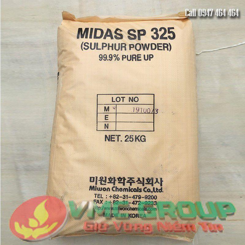 LƯU HUỲNH BỘT KOREA MIDAS 325