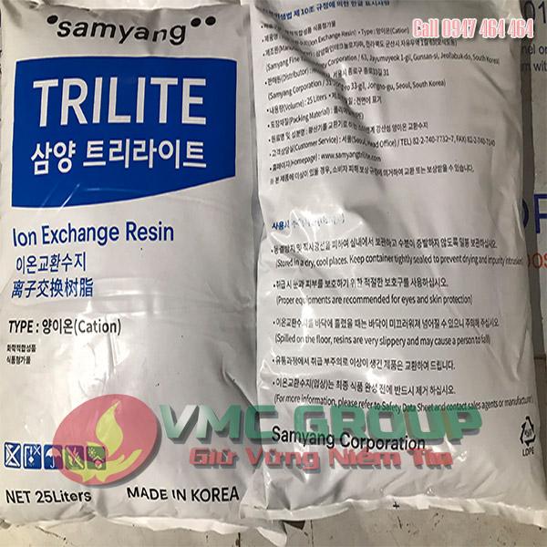 HẠT NHỰA NA XỬ LÝ NƯỚC – TRILITE MC08 (Hạt làm mềm nước) 1