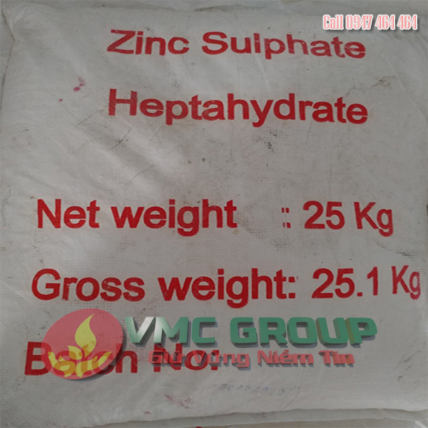 ZINC SULPHATE – KẼM SUNPHAT – ZnSO4 1